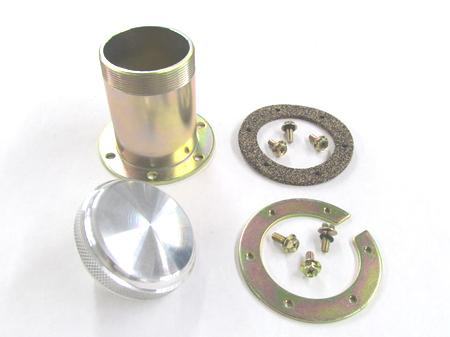 Tanks Bolt-on Neck Kit with Billet Aluminum Fuel Cap