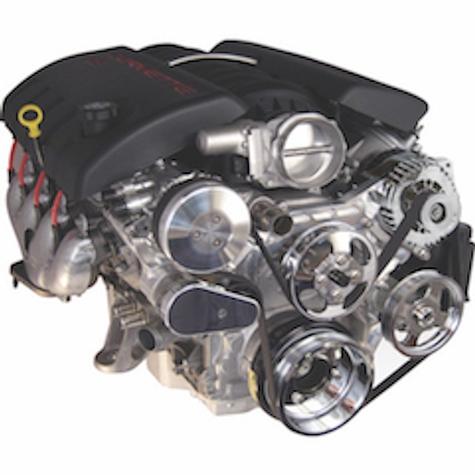 Big Block Chevy with Short Water Pump Engine Brackets