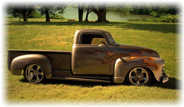Chevy Truck Floor and Body Panels
