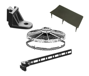 SPAL Fan Mounting Kit and Hardware