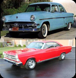 Ford Fairlane 1954 - 1967
