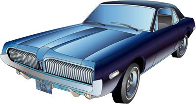 1967-1968 Mercury Cougar Suspension Systems