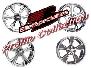 Billet Specialties Profile Collection Wheels