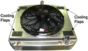 SPAL Cooling Flaps