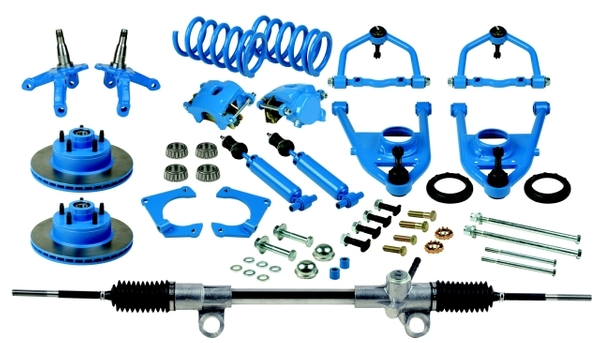 Heidts Deluxe Suspension Package Without Crossmember