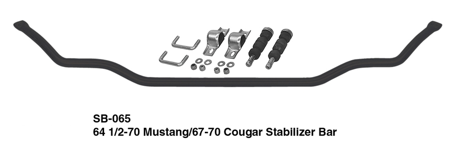 Heidts Mustang II Stabilizer Bar Kit (For 1st Gen Mustangs)