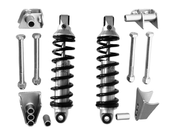 Pete and Jakes 1928-1931 FORD MODEL A Coil Shock Rear Suspension Kit