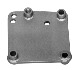 Pete and Jakes 1935-1948 FORD Saginaw Steering Plate