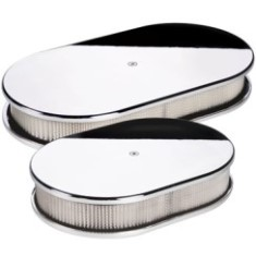 Billet Specialties Oval Plain Air Cleaner