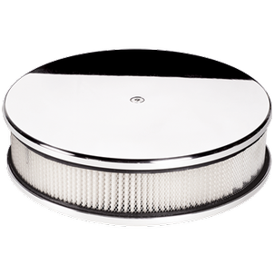 Billet Specialties Round Plain Air Cleaner 10 Inch