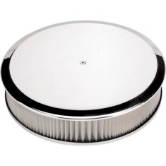 Billet Specialties Round Plain Air Cleaner 14 Inch