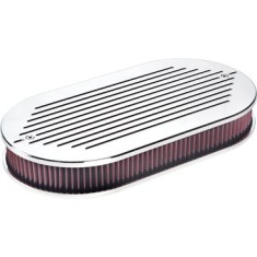 Billet Specialties Dual Quad Ball Milled Air Cleaner