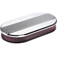 Billet Specialties Dual Quad Ribbed Air Cleaner