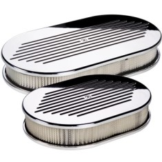 Billet Specialties Oval Ball Milled Air Cleaner
