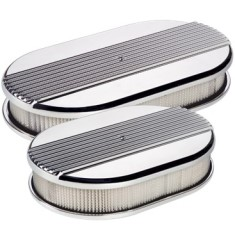 Billet Specialties Oval Ribbed Air Cleaner