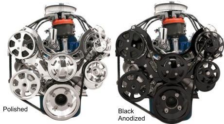 Billet Specialties Ford Small Block Standard Tru Trac Serpentine Kit