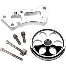 Billet Specialties Power Steering Bracket and Pulley Kit