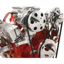 Billet Specialties SBC SWP Top Mount Compressor Bracket