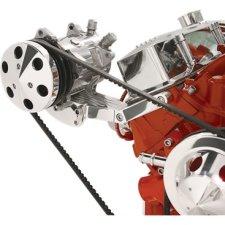 Billet Specialties SBC SWP Side Mount Compressor Bracket
