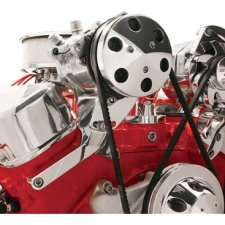 Billet Specialties BBC SWP Top Mount Compressor Bracket