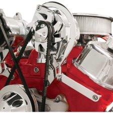 Billet Specialties BBC SWP Top Mount Alternator Bracket