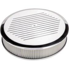 Billet Specialties Round Ball Milled Air Cleaner 14 Inch