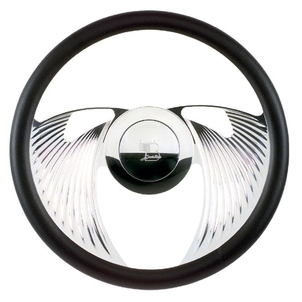 Billet Specialties Eagle Steering Wheel