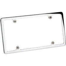 Billet Specialties Slim Line or Plain Recessed License Plate Frame
