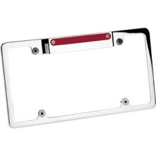 Billet Specialties 3rd Brake Lighted Recessed License Plate Frame