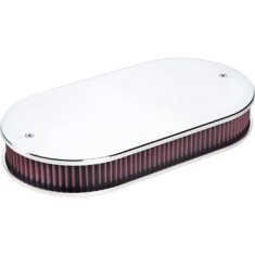Billet Specialties Dual Quad Plain Polished Air Cleaner