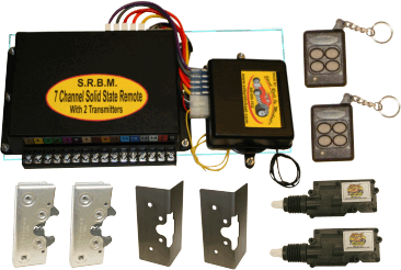SRBM  7 Channel Remote Complete Entry System