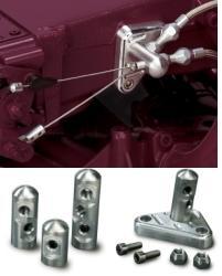 (G) Lokar Tuned-Port Throttle/Kickdown Cable Brackets