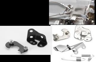 (E) Lokar Ram Jet Throttle Cable Bracket