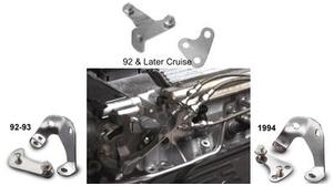 (F) Lokar LT1 and LT4 Throttle/Kickdown Cable Brackets
