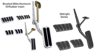 Lokar 1962-1972 Chevy II/Nova Throttle Pedal Assemblies and Pedal Pads