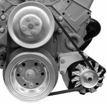 Alan Grove SBC SWP Low Mount GM CS130 Alternator Bracket