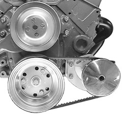 Alan Grove SBC SWP Type II Low Profile Power Steering Bracket