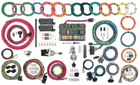 American Autowire Hwy 22 Modular Panel Wiring Kit