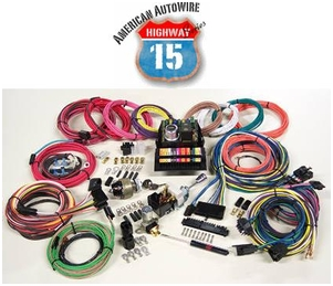 American Autowire Hwy 15 Modular Panel Wiring Kit