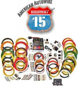 American Autowire Hwy 15 Nostalgia Modular Panel Wiring Kit