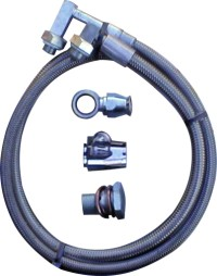 Gotta Show Ford Rack to Ford Pump Power Steering Hose Kit