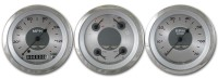 Classic Instruments All American Series 3 Gauge Speedo/Tach/Quad Set
