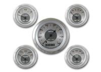 Classic Instruments All American Nickel Series 5 Gauge Speedo/Fuel/Oil/Temp/Volts Set