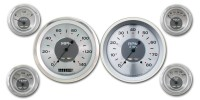 Classic Instruments All American Nickel Series 6 Gauge Speedo/Tach/Fuel/Oil/Temp/Volts Set