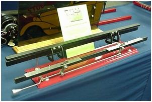 Carolina Custom Steel Single Opening Hood Latch Kit