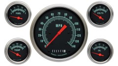 Classic Instruments G-Stock Series 5 Gauge Speedo/Fuel/Oil/Temp/Volts Set