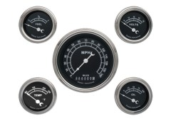 Classic Instruments Traditional Series 5 Gauge Speedo/Fuel/Oil/Temp/Volts Set