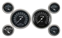 Classic Instruments Traditional Series 6 Gauge Speedo/Tach/Fuel/Oil/Temp/Volts Set