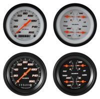 Classic Instruments Velocity Series 2 Gauge Speedo/Quad Set