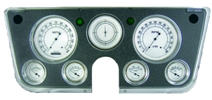 Classic Instruments 1967-1972 Chevy Truck Gauge Set - Classic White Series